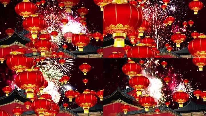 春节背景素材0123
