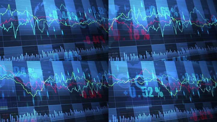 科技感股票证券交易