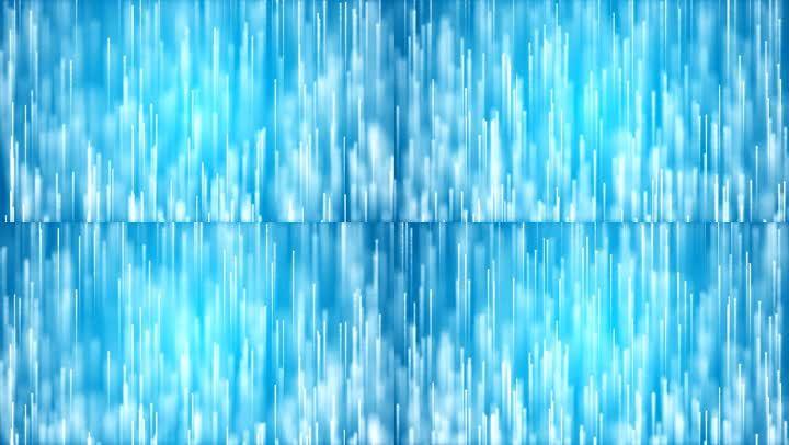 蓝色粒子光线上升震撼大气颁奖上升粒子线条