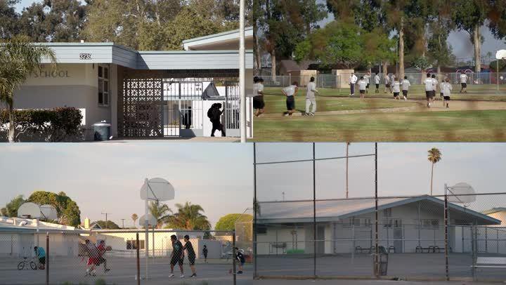 美国高中校园严密的安保措施