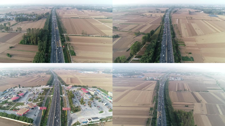 河南大广高速航拍视频