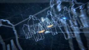 法律面前人人平等_天平秤视频素材3d三维视频素材