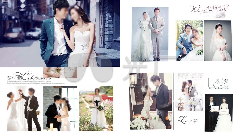 【原创】韩式简约婚礼电子相册-倒卖必究