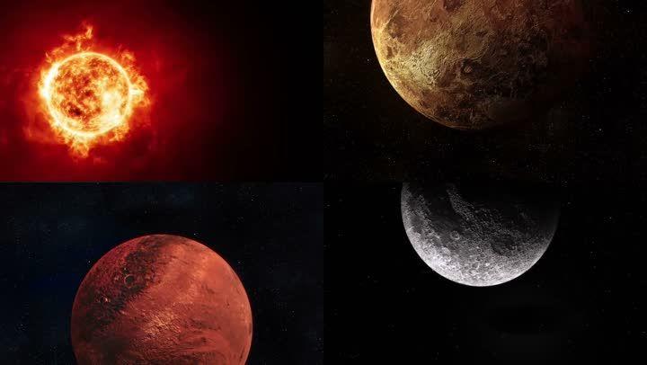 大气星球视频素材