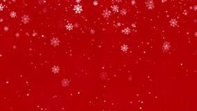 圣诞雪花飘落背景视频视频素材