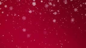 圣诞雪花led背景视频素材