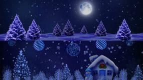 4K圣诞节LED大屏背景视频素材