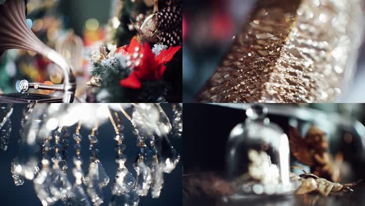 圣诞装扮五彩斑斓美丽多彩
