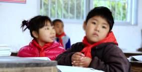 乡村小学留守儿童希望小学视频素材包