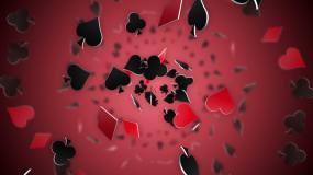扑克牌符号视频视频素材