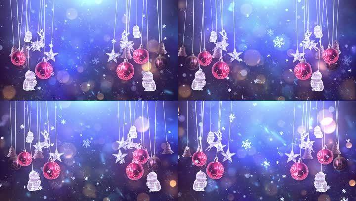 圣诞节装饰礼物铃铛平安夜