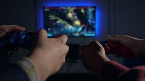 玩游戏视频素材