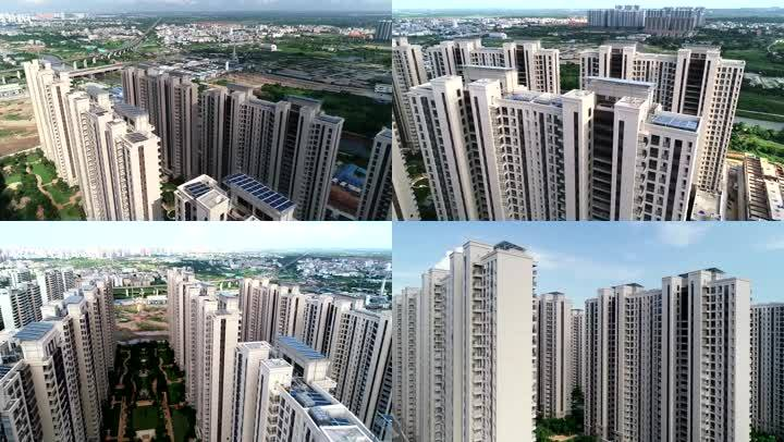 建筑房地产地产项目高楼摩天大楼