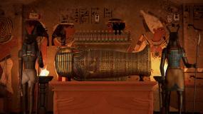 埃及探索木乃伊视频素材