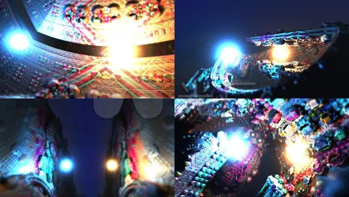 视觉创意空间装置-灯光装置