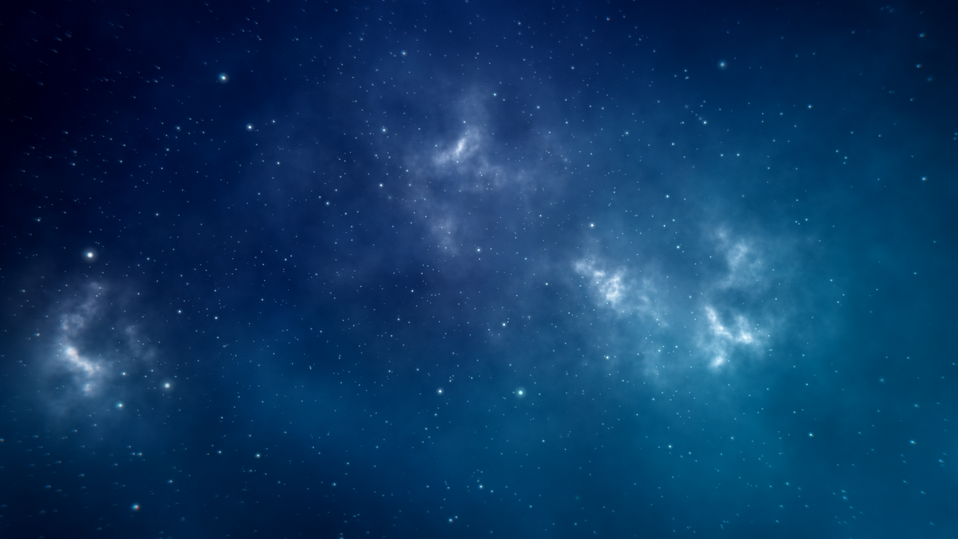 唯美星空粒子循环背景