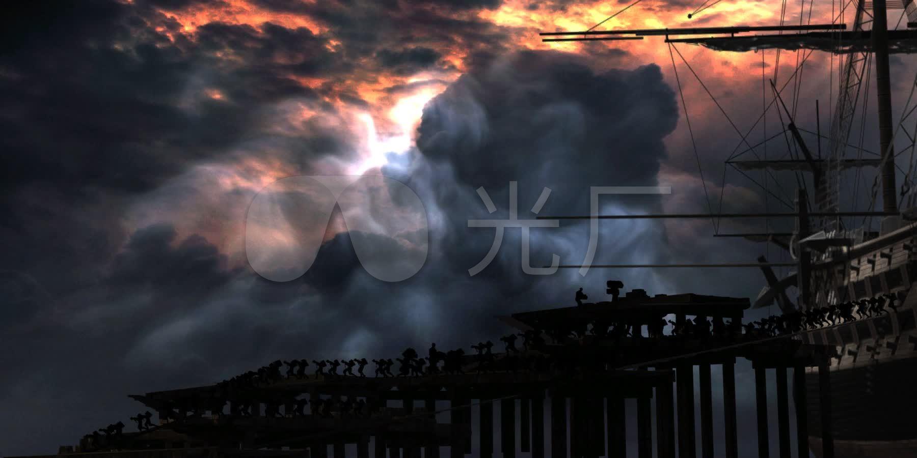 鸦片战争_1800X900_高清视频素材下载(编号