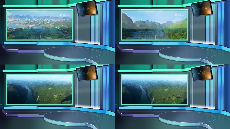 主持人新闻娱乐综艺节目虚拟演播室演播厅