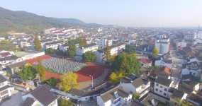 东山镇航拍-4K视频素材视频素材
