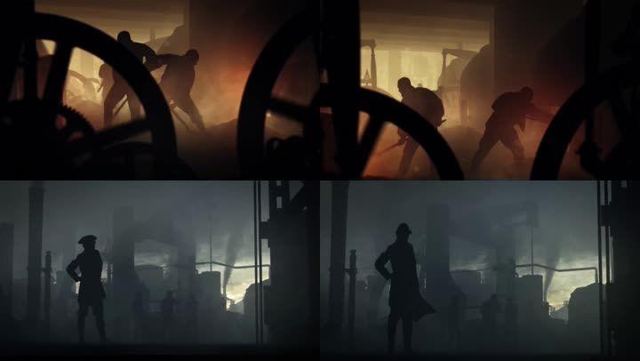 英國工業革命蒸汽時代、蒸汽機器火車輪船