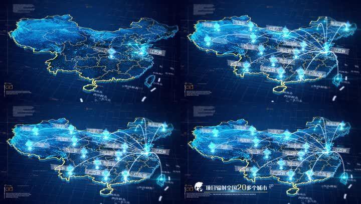 【原创】科技地图辐射全国