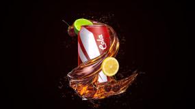 【原创】饮料液体商品广告包装AE模板AE模板