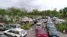 报废车辆停车场视频素材