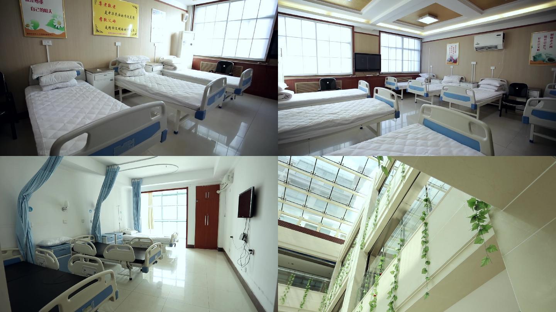 干净整洁的医院病房环境