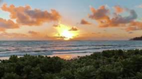 唯美海边风景视频素材