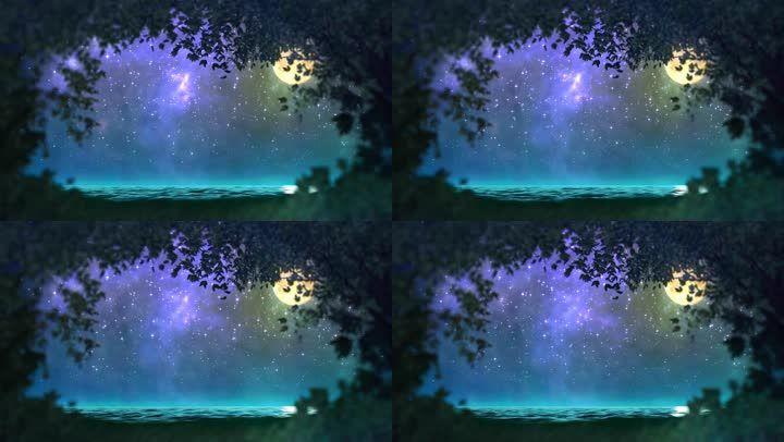 唯美宇宙星空天空背景