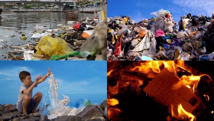 垃圾污染垃圾分类垃圾处理