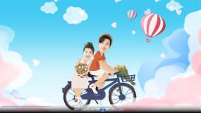 【原创】浪漫爱情AE卡通动画模板AE模板