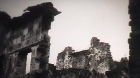 荒村野外废墟断壁【3040年代】视频素材