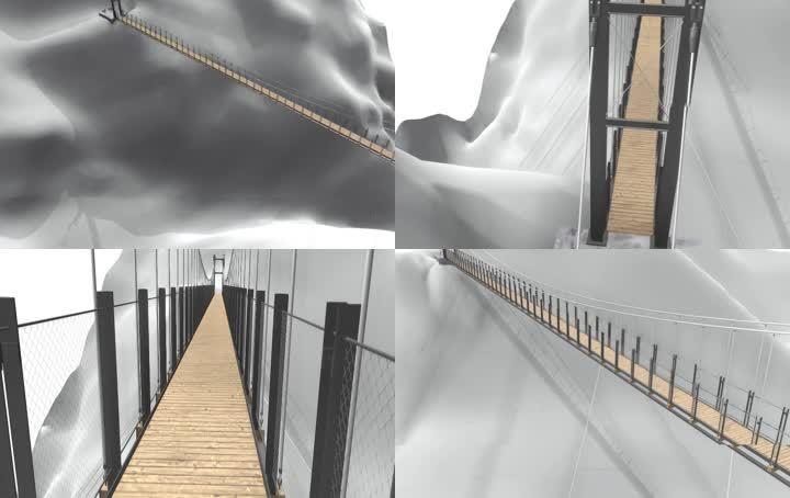 峡谷大桥(fbx)