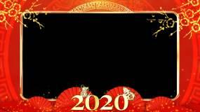 2020合成春节边框视频素材