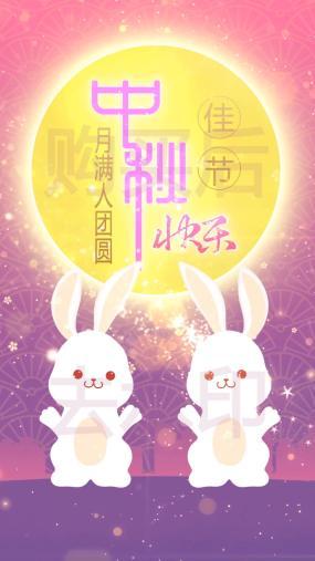 中秋节竖屏-5视频素材包