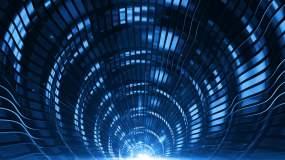 大气蓝色金属质感光效变换视频素材视频素材