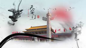 大气中国风水墨图文展示ae模板AE模板