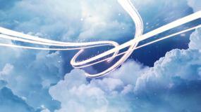 【无插件】云层光线片头AE模板
