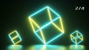 【4K】霓虹多边形视频素材包
