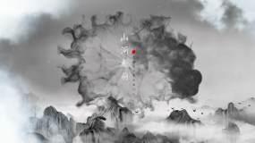 大气云端PR永利平台官网水墨片头模板Pr模板