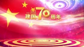 建国70周年欢度国庆党政宣传片头片尾AE模板