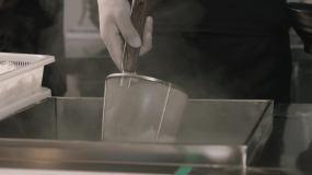 绵阳米粉制作过程视频素材