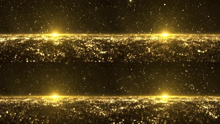 4k唯美永利官网星空波浪粒子光斑背景