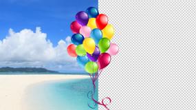 气球06——卡通气球前景永利官网网址是多少4款永利官网网址是多少包