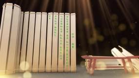 古典书籍文字包装ae模板002AE模板