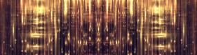 4K宽屏华丽金色粒子舞台背景循环视频素材