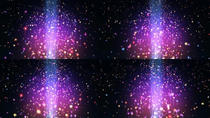 8K绚丽粒子背景素材
