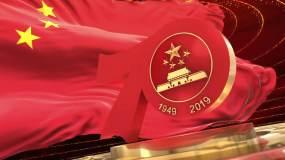 建国70周年视频片头视频素材