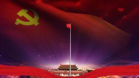 AM041-2五星红旗国旗红歌(无音视频素材
